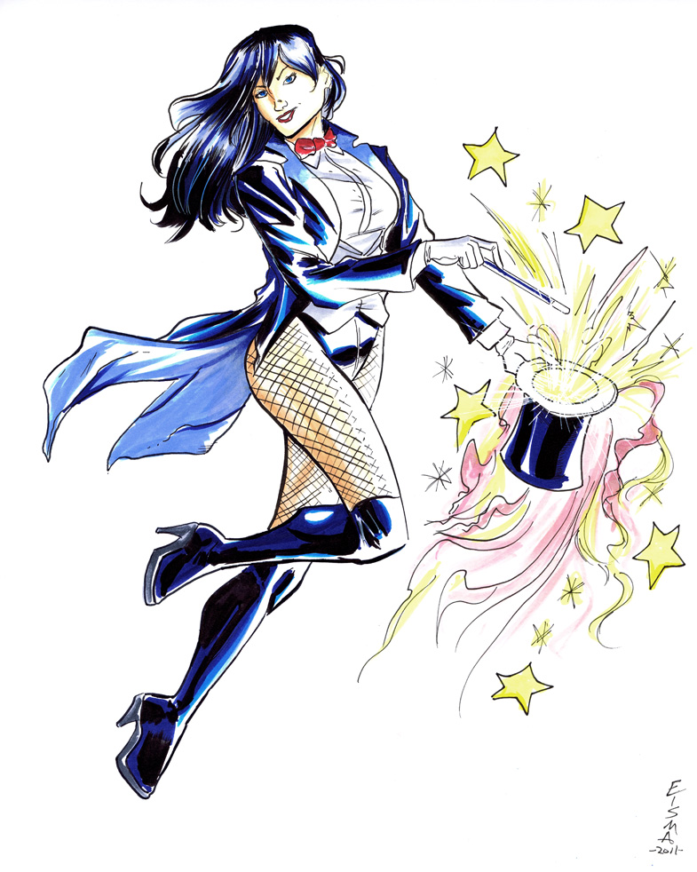 Zatanna Commish by Supajoe