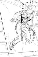 Quick Change Spidey by Supajoe