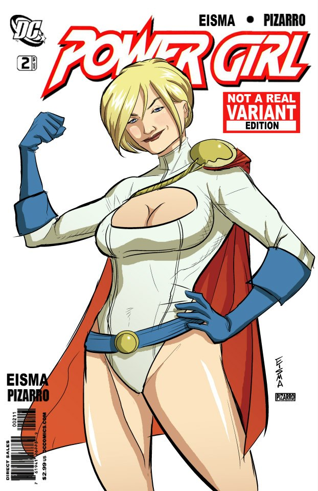 Power Girl w/ Colors by VPizarro by Supajoe