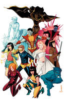 The Uncanny X-Glories in Color by Supajoe