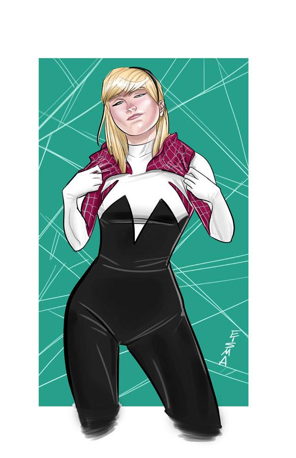 Spider-Gwen by Supajoe