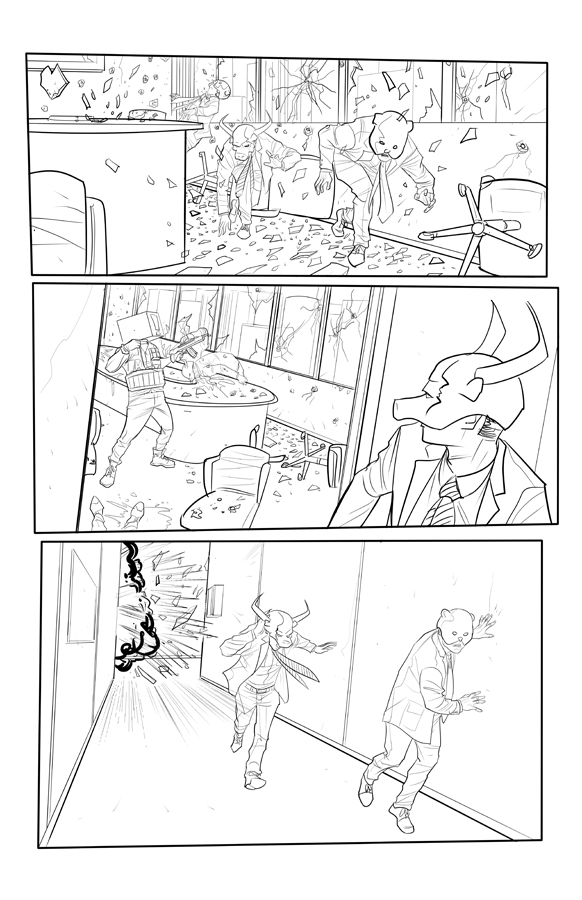 The One Percent page 6 by Supajoe