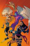 90s X-men in Color