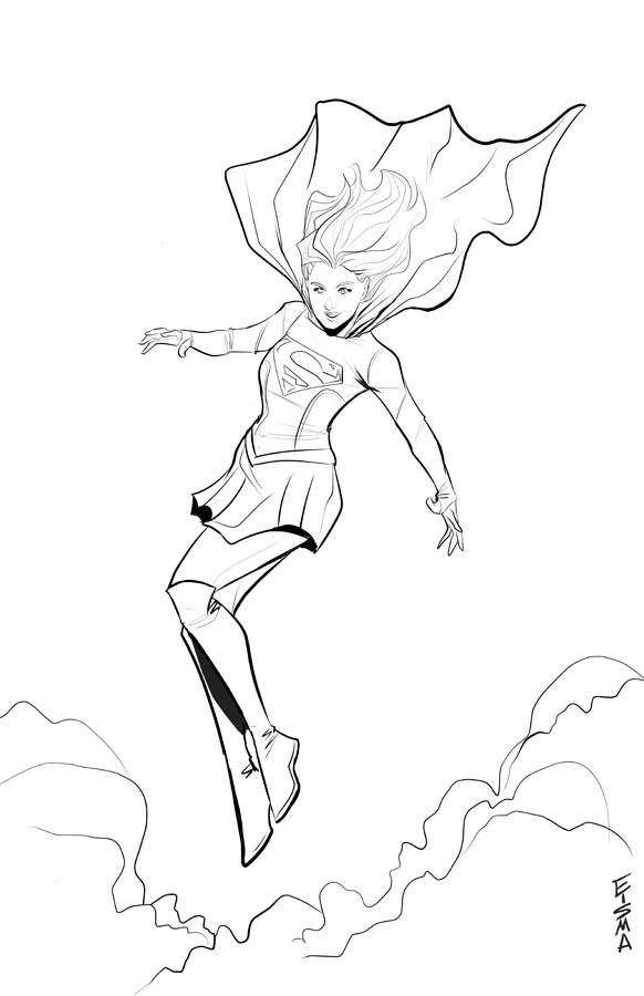 New Supergirl by Supajoe