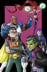 Teen Titans in Color