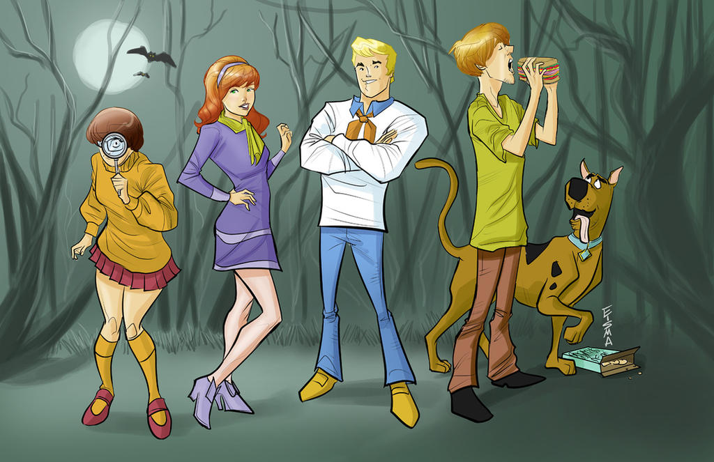 Scooby Doo and Mystery Inc. by Supajoe