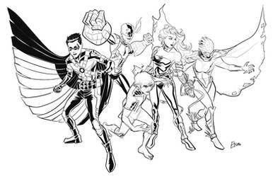 New 52 Teen Titans by Supajoe