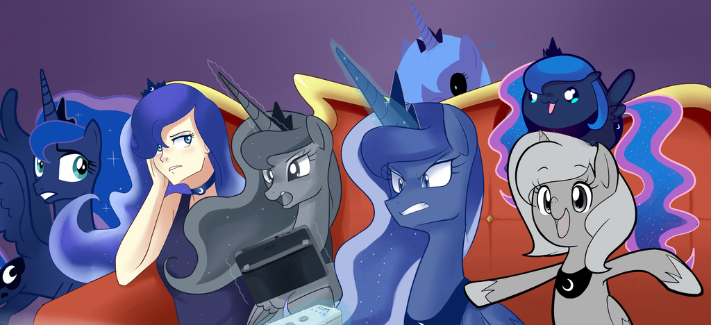 Luna: Mass Attack by Sallymon