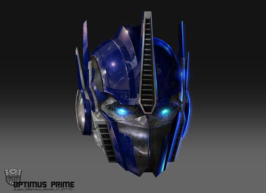 Optimus Head by AugustoBarranco on DeviantArt  Optimus Head by...