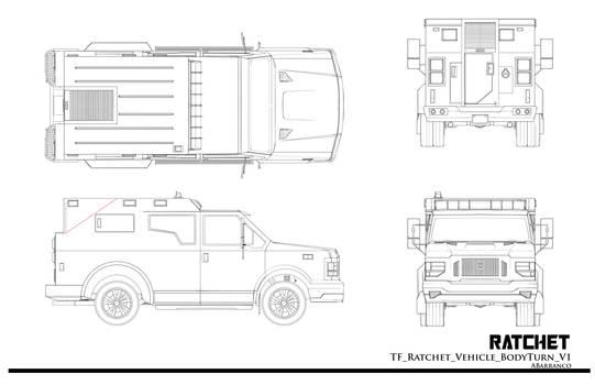 TF Ratchet Vehicle BodyTurn