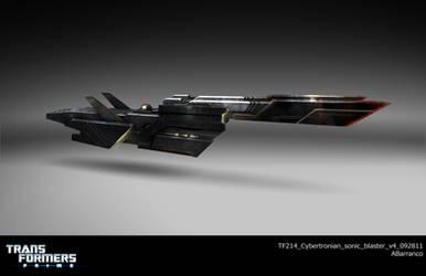 TF Cybertronian sonic blast