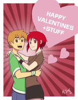 Scott Pilgrim Valentine Card 1 by Dragon2524
