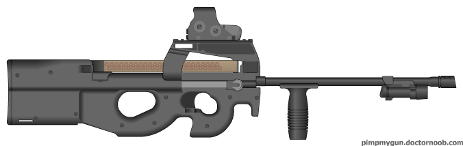 FN P95 by eliteracer on DeviantArt