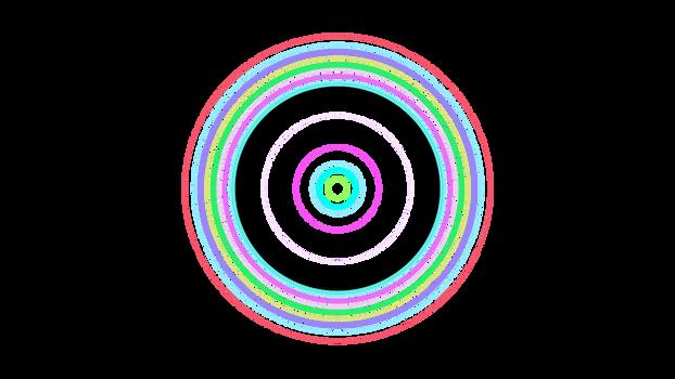 Circles Template 3840x2160