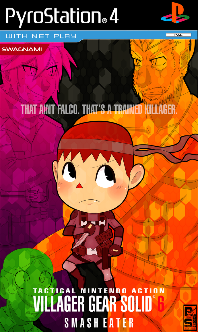 Villager Gear Solid: Smash Eater by PyrokidSosa