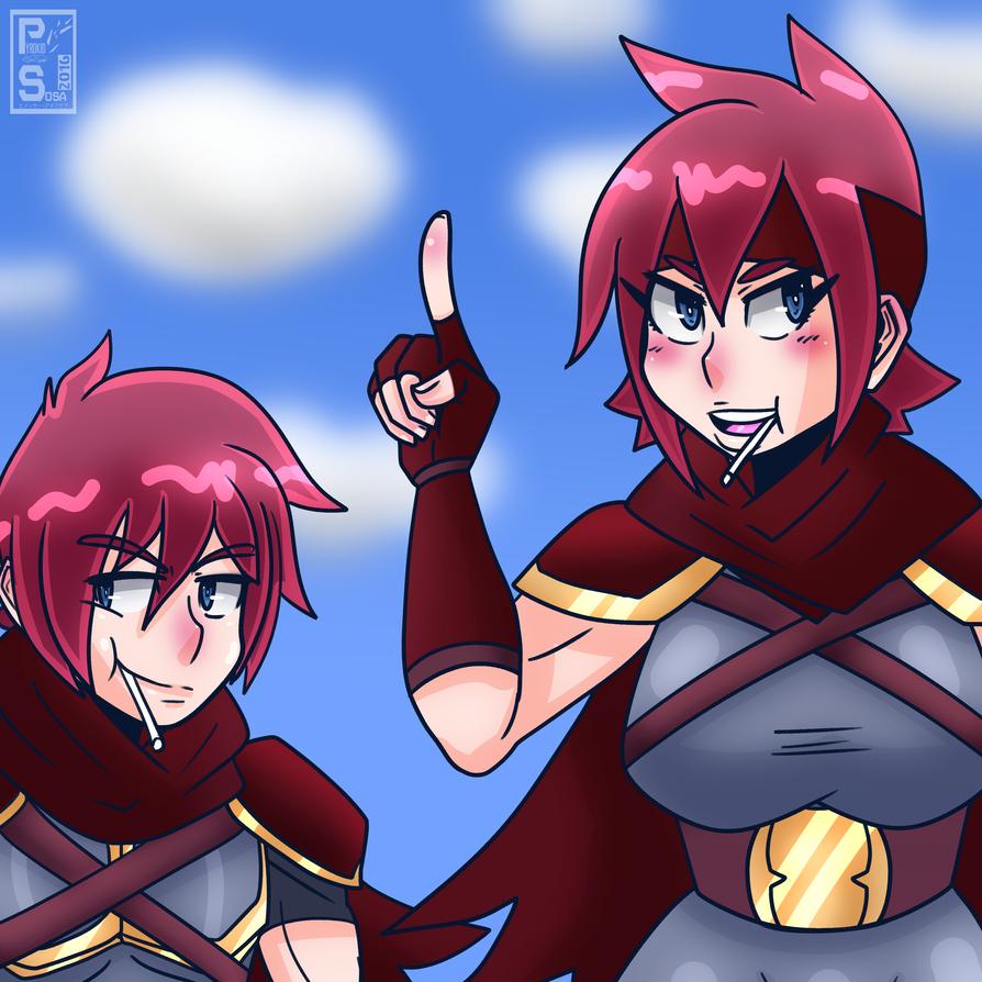 Mercenary Siblings by PyrokidSosa