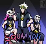 SQUAAAD!! [Team Skull]
