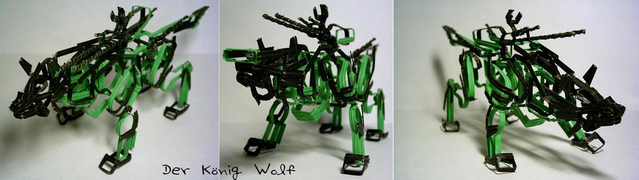Koenig Wolf by The-Twist-Tie-Guy