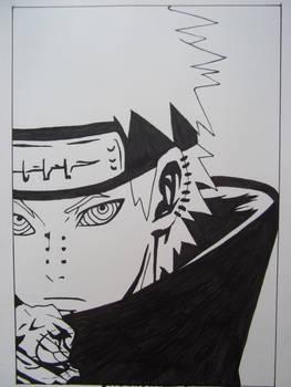 Manga drawings: Pein
