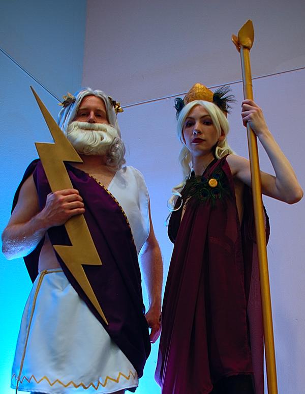Greek Gods Cosplay Ohayocon 2012 by Swoz on DeviantArt
