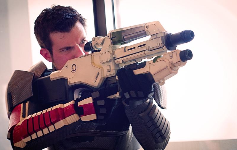 Mass Effect Cosplay Photoshoot - DragonCon by Swoz