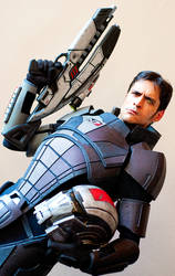 Mass Effect N7 Cosplay Photoshoot - DragonCon