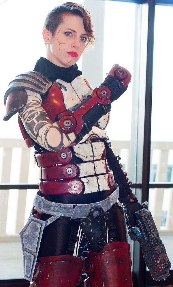 Mass Effect N7 Cosplay Photoshoot - DragonCon by Swoz