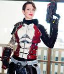 Mass Effect N7 Cosplay Photoshoot - DragonCon
