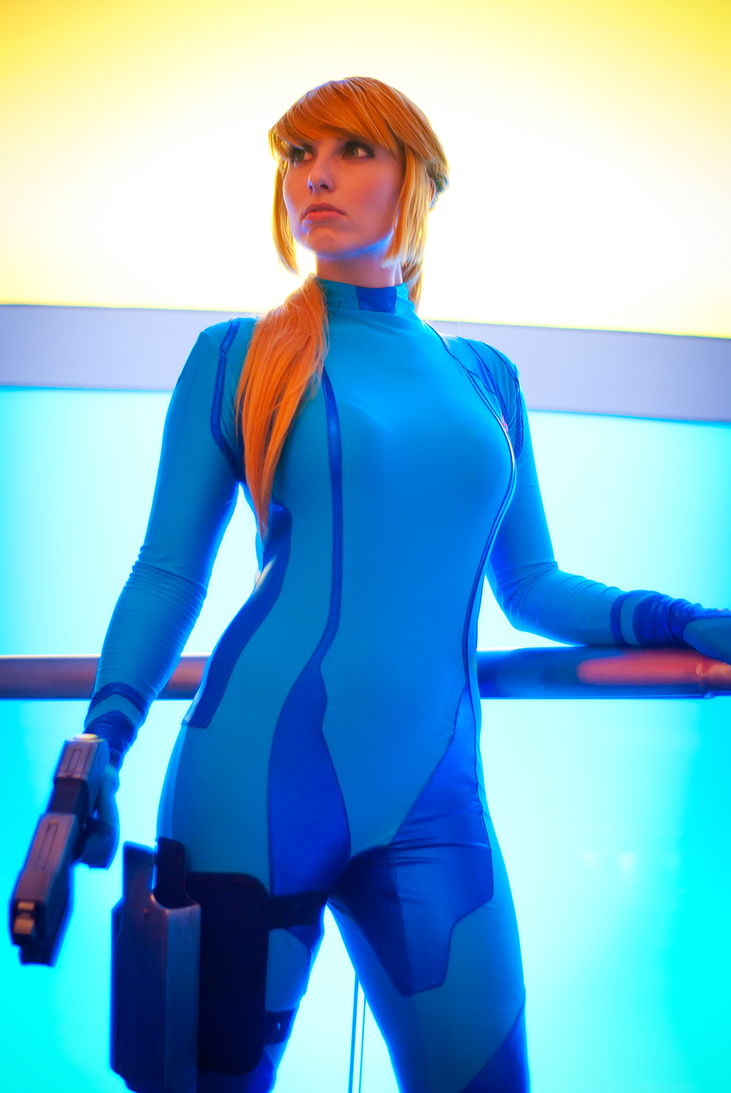 Samus Cosplay Photoshoot DragonCon 2012 by Swoz
