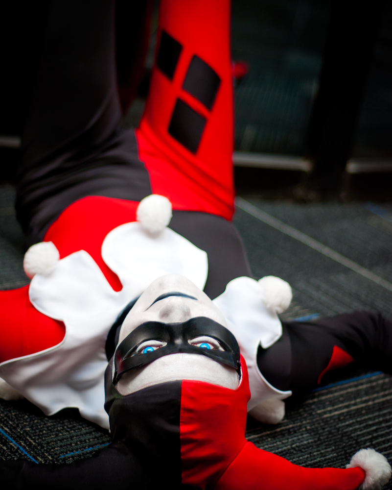 Harley Quinn Cosplay Youmacon 2012 by Swoz