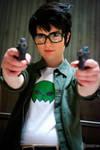 Jake English cosplay