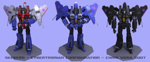 Seekers Cybertronian Config