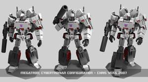 Cybertronian Megatron
