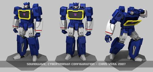 Cybertronian Soundwave