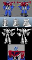 TFA Wingblade Optimus WIP