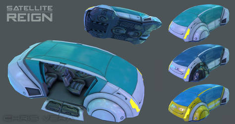Satellite Reign - Sedan Base