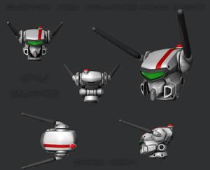 Custom 1/60 VF-1J Mtf Head Unit