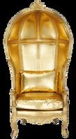 Gold-armchair by fatimah-al-khaldi