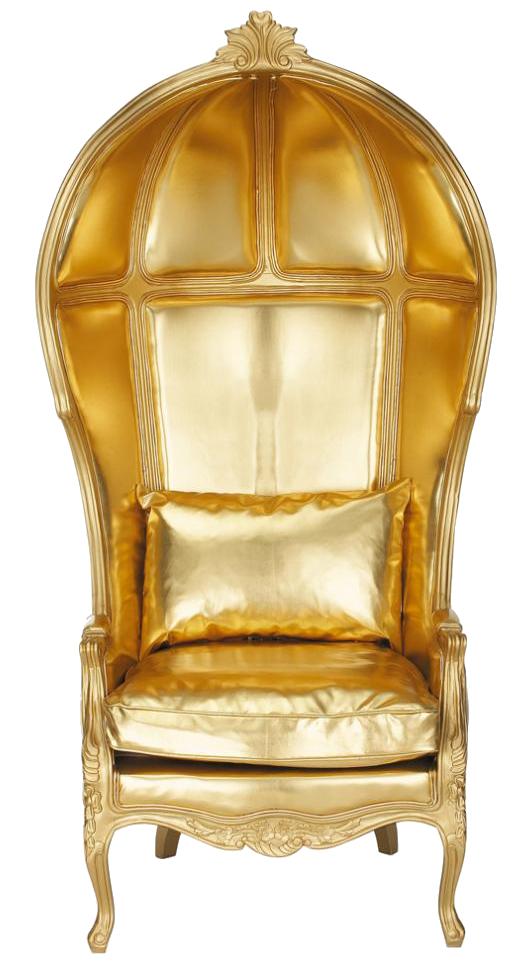 Gold Armchair By Fatimah Al Khaldi ...