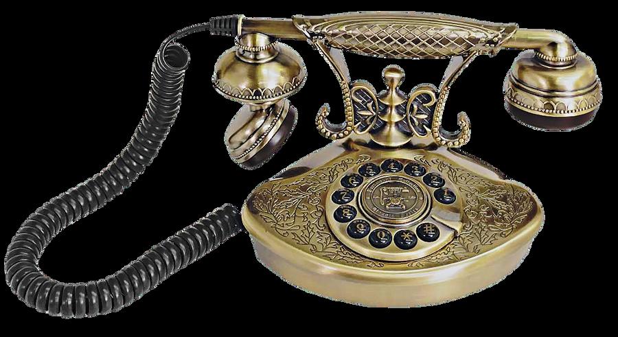 Gold_Telephone by fatimah-al-khaldi
