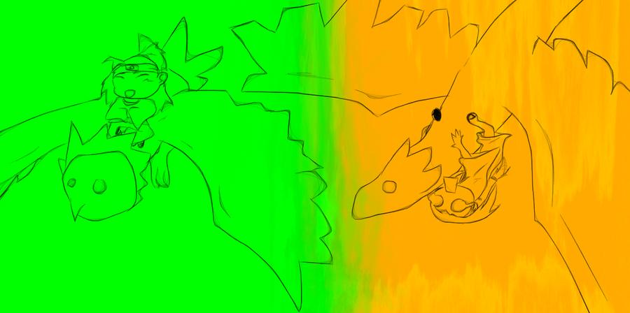 Random fun sketch by nightwindwolf95