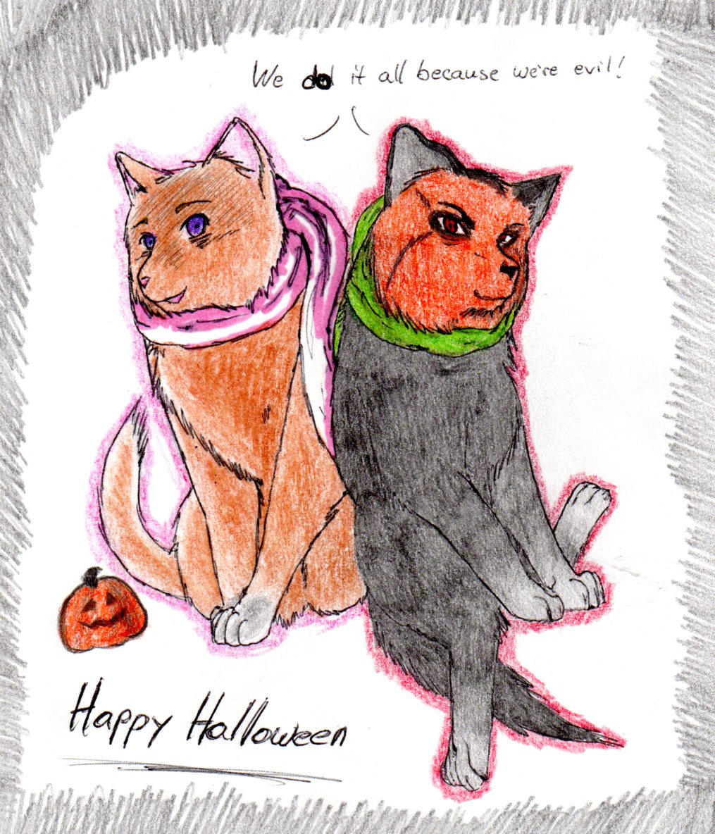 Happy Halloween by nightwindwolf95