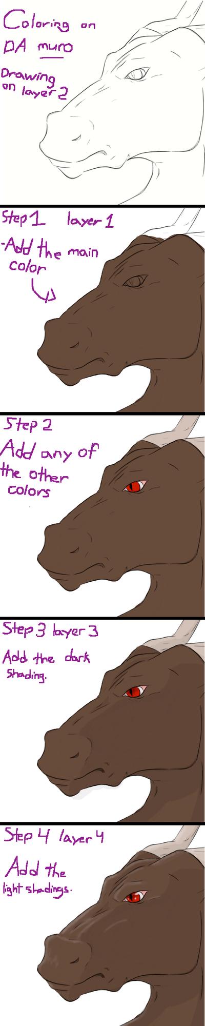 coloring on muro tutorial by nightwindwolf95
