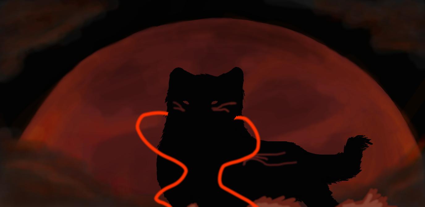Lunar Eclipse by nightwindwolf95