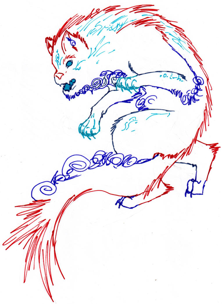 Traditional Katzengeist by nightwindwolf95