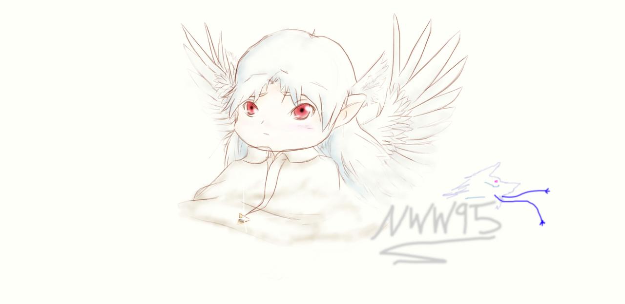 Cute random drawing by nightwindwolf95