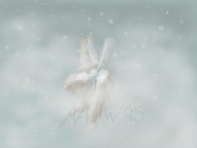 Middle of Winter by nightwindwolf95