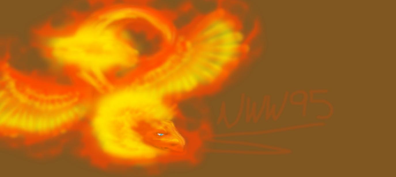 Phoenix Ampithere by nightwindwolf95