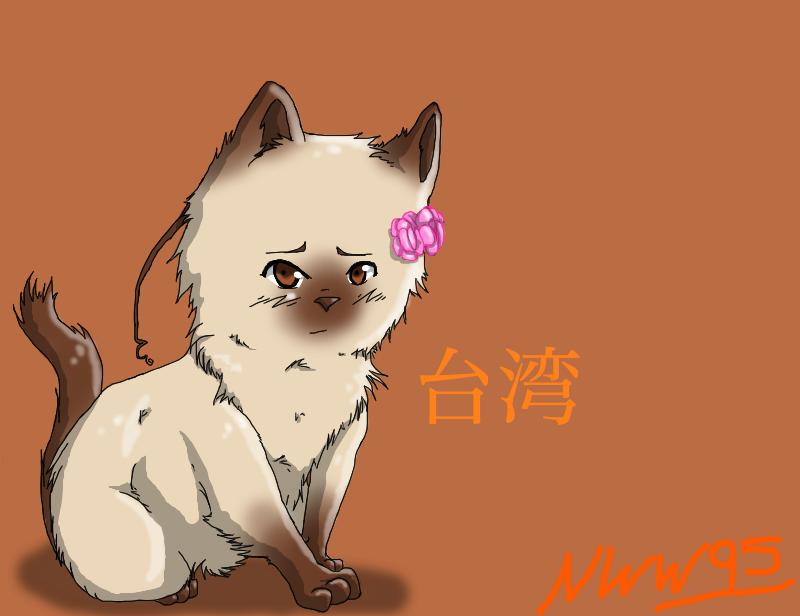 Taiwan Kitty by nightwindwolf95