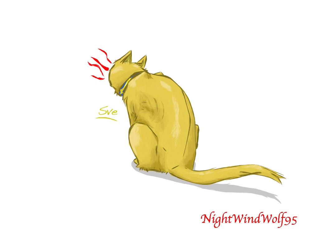 Cat Sweden by nightwindwolf95